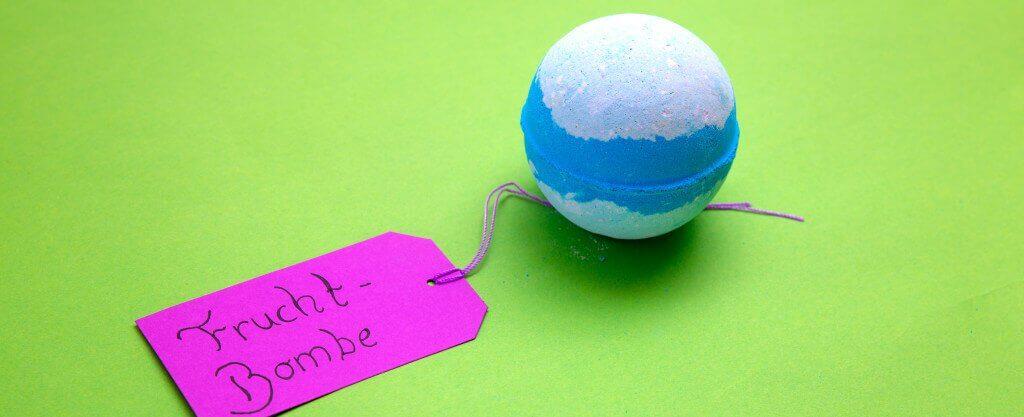 Rezepte für Badekugeln selber machen mit Kinder